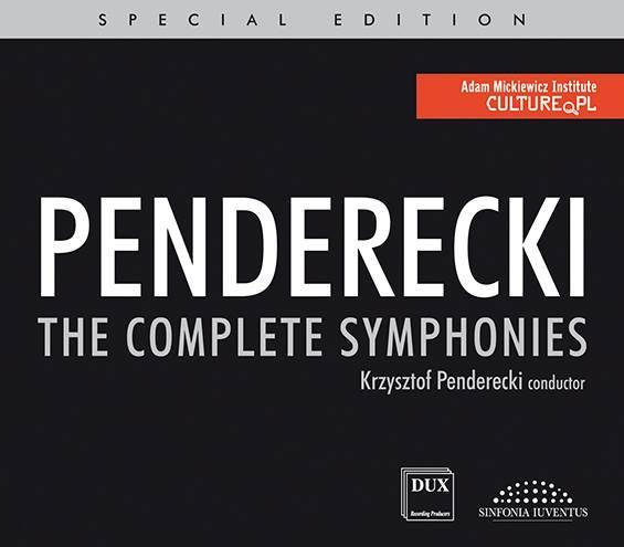 okładka płyty Penderecki The Complete Symphonies